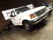 1992 F250 CAB CHASSIS REGISTERED - 6 WHEEL Melbourne CBD Melbourne City Preview
