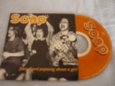 - SOAP Four Chord Popsong About a Girl 4 TRACKS MCD