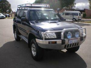 2003 Nissan Patrol GU III ST (4x4) Blue Wagon Victoria Park Victoria Park Area Preview