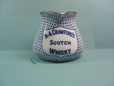 Crawford's Whisky Water Jug / Pub / Whisky Jug/whiskey/pitcher