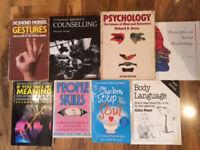 Books - Fiction/Non-Fiction, Social Sciences, Music, Travel, Healthy Living