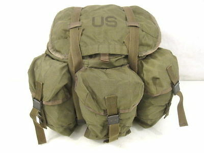 post-Vietnam US Army/USMC ALICE Combat Pack - Size Medium w/Shoulder Straps