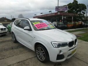2014 BMW X3 F25 MY14 xDrive 20D White 8 Speed Automatic Wagon New Lambton Newcastle Area Preview
