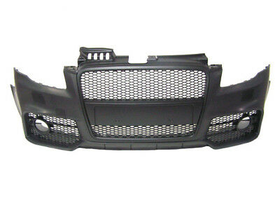 Audi A4 B7 2005-2008 RS4 Style Front Bumper with Black Front Grille