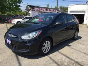 2013 Hyundai Accent GL/Very Low KM/Super Gas Saver/Certified