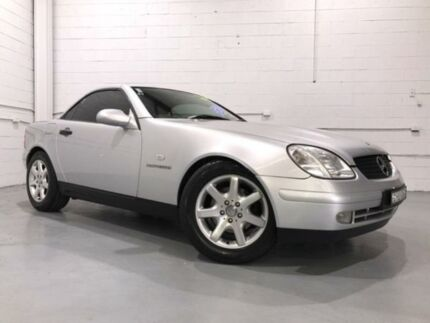 1997 Mercedes-Benz SLK230 Kompressor Silver 5 Speed Automatic Convertible