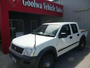 2005 HOLDEN RODEO UTILITY-MANUAL DIESEL,4X4. Goolwa Alexandrina Area Preview