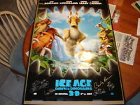 AUTOGRAPHED POSTER ICE AGE OF THE DAWN