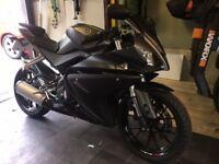 Yamaha YZF R125 Grey/Black