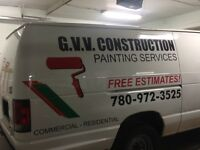 $1 per sq/ft G.V.V.CONSTRUCTION LTD painting
