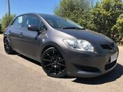 2009 Toyota Corolla ZRE152R MY10 Ascent Grey 6 Speed Manual Hatchback Hoppers Crossing Wyndham Area Preview
