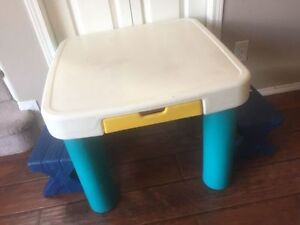 kids little tikes/step 2 table and stools