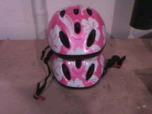 Casque helmet girl fille enfant 52 - 56cm bicyclette bike vélo