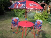 Child's Superman Garden Furniture Set