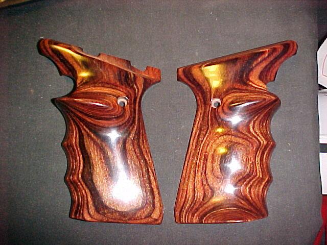Browning Buckmark Smooth Rosewood Target Pistol Grips - f/UFX Series-Beautiful!