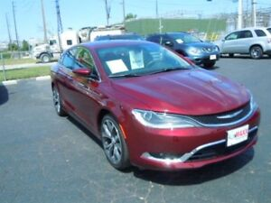 2016 CHRYSLER 200 C- SUNROOF, NAVIGATION SYSTEM, REAR VIEW CAMER