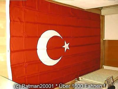 Fahnen Flagge Türkei - 1 - 150 x 250 cm