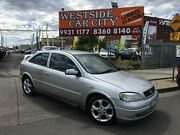 2003 Holden Astra TS MY03 SRi Silver 5 Speed Manual Hatchback Laverton Wyndham Area Preview