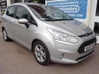 Ford B-Max 1.4 ( 90ps ) 2012 Zetec Full S/H 1 owner from new REDUCED TO £5995