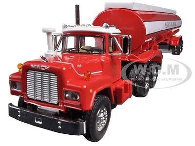 MACK R-MODEL WITH 42' WATER TANK TRAILER MADISON FIRE 1/64 BY FIRST GEAR 60-0289, used for sale  Shipping to Nigeria