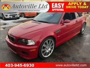 2002 BMW M3 CONVERTIBLE LOW LOW KMS SMG