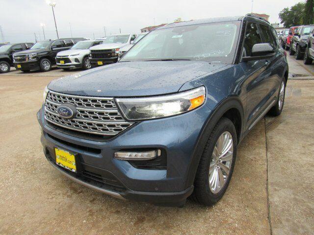 2020 Ford Explorer Limited 1727 Miles Blue Metallic Sport Utility Intercooled Tu