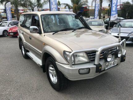 2002 Toyota Landcruiser Prado KZJ95R TX FullTime 4WD DR Gold 4 Speed Automatic Wagon