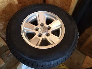 Dodge Dakota snow tire package