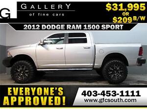 2012 DODGE RAM SPORT LIFTED *EVERYONE APPROVED* $0 DOWN $209/BW