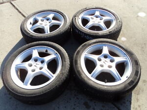4 General All Season Tires with Rims for Honda Vehicles