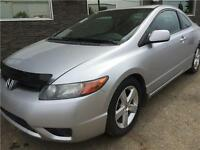 2008 Honda Civic 2DR WITH SUNROOF!! LOW KM!! $7900