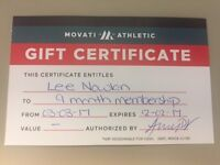 Movati Gift Certificate $500 Firm