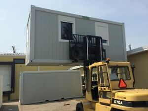 Mobile Office Units ~ 8x20 Steel-Framed, Modular, Panelized