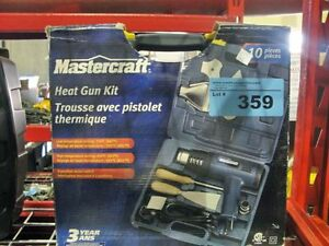Mastercraft Heat Gun Kit 10pc