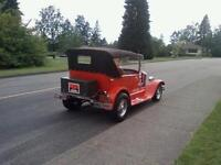 1927 Ford Model T 4 Door Touring Convertible