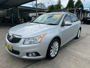 2011 Holden Cruze JH Series II MY11 CDX Silver 6 Speed Sports Automatic Sedan Lansvale Liverpool Area Preview