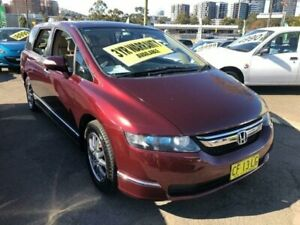 2008 Honda Odyssey 3rd Gen MY07 Luxury Maroon Sports Automatic Wagon Lidcombe Auburn Area Preview