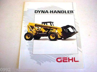Gehl Dyna-handler 562 Telescoping-boom Forklift Color Brochure  B2