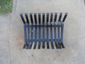 Fireplace/wood stove wood holder - Solid steel