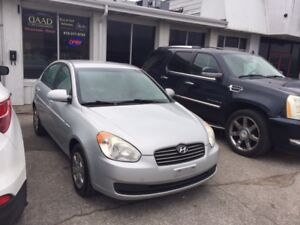 2009 Hyundai Accent,Winter tires,1 Owner,No Accident,Certified