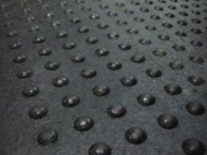 "Commercial / Industrial Button Top Mats - 2' x 4' x 5/8"" For Wet Areas, Anti-Fatigue, Workshops and More!"