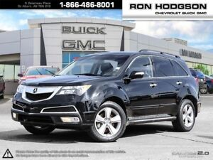 2012 Acura MDX ONE OWNER LOW KM