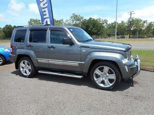 2012 Jeep Cherokee KK MY12 JET Grey 4 Speed Automatic Wagon Winnellie Darwin City Preview