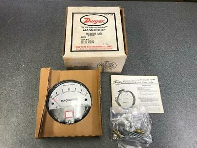 Dwyer 2006 Magnehelic Differential Pressure Gauge Range 0-6 Inches Of Water