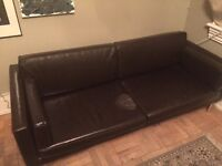Free Ikea Leather Couch
