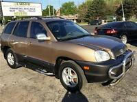 2003 Hyundai Santa Fe GLS AUTO LEATHER SUNROOF FINANCE WARRANTY City of Toronto Toronto (GTA) Preview