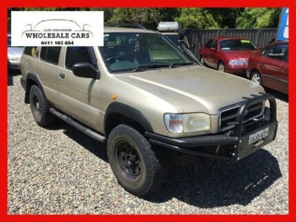 2002 Nissan Pathfinder TI (4x4) Gold 4 Speed Automatic Wagon Jewells Lake Macquarie Area Preview