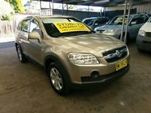 2007 Holden Captiva CG CX Gold 5 Speed Automatic Wagon Five Dock Canada Bay Area Preview