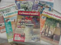 Leisure Painter Collection of Six Publications.