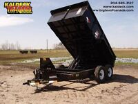 BIG TEX 12LX TANDEM AXLE LOW PROFILE EXTRA WIDE DUMP